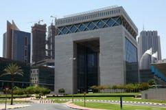 Dubai-internationale Finanzmitte Stockbild