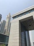 Dubai-internationale Finanzmitte Lizenzfreie Stockfotos