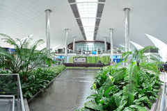 Dubai-internationaler Flughafen Lizenzfreies Stockbild