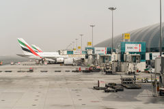 Dubai-internationaler Flughafen Stockfotos