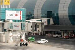Dubai-internationaler Flughafen Lizenzfreie Stockbilder