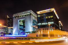 Dubai-Internationalfinanzzentrum Stockbilder