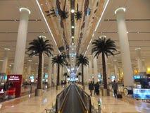 Dubai internationell flygplats Royaltyfri Foto