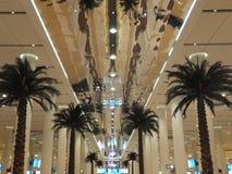 Dubai internationell flygplats Fotografering för Bildbyråer
