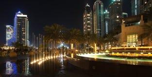 Dubai-Jachthafen. Stockbild