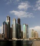Dubai-Jachthafen lizenzfreie stockfotos