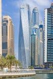 Dubai-Jachthafenansicht stockfoto