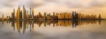 Dubai-Jachthafenbucht, UAE Stockfoto