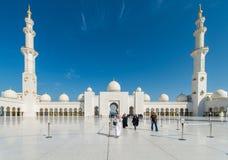 Dubai - JANUARI 9, 2015 Arkivfoto