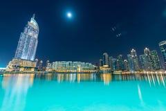 Dubai - JANUARY 10, 2015: The Address Hotel on Royalty Free Stock Image