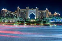Dubai - JANUARY 8, 2015: Atlantis the Palm Hotel Stock Photography