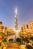 Dubai - JANUARY 9, 2015: Burj Khalifa building on Stock Images