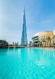 Dubai - JANUARY 10, 2015: Burj Khalifa on January Stock Photography