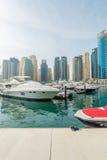 Dubai - JANUARY 10, 2015: Marina district on Stock Photos