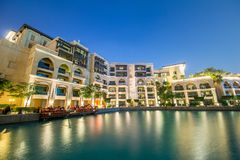 Dubai - JANUARY 9, 2015: Soul Al Bahar on January Royalty Free Stock Photos