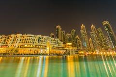 The dubai - january 9, 2015: soul al bahar on Royalty Free Stock Image