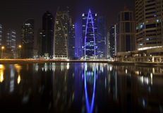 Dubai, JLT district Royalty Free Stock Image