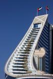 Dubai Jumeirah Beach hotel building Royalty Free Stock Images