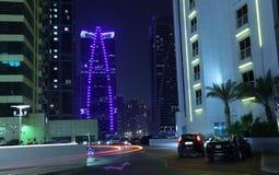 Dubai Jumeirah Lakes Towers Royalty Free Stock Images