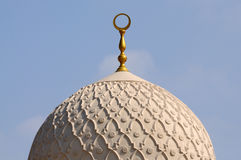 dubai jumeirah meczet Fotografia Royalty Free