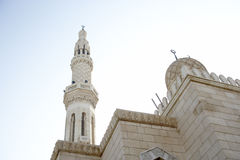Dubai,Jumeirah Mosque Royalty Free Stock Photo