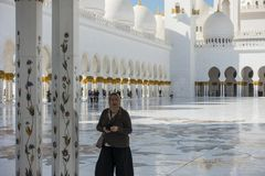 Dubai,Jumeirah Mosque royalty free stock photo