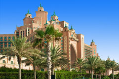 DUBAI - JUNE 3: The famous Atlantis hotel Stock Images