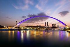Dubai kanal Royaltyfria Bilder