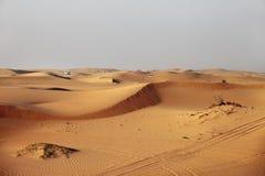 Dubai Ökenkörning Arkivbilder