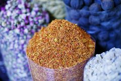 Dubai krydda Souk Royaltyfria Bilder