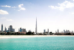 Dubai.l Beach Royalty Free Stock Photos