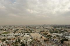 Dubai landskap Arkivfoton