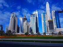 Dubai landskap Fotografering för Bildbyråer