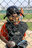 Dubai Little League Catcher Stock Images
