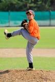 Dubai Little League Pitcher stock photos