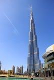 Dubai Living - Burji Khalifa Highest SKyscraper Stock Photo