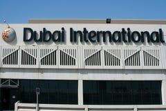 dubai lotniskowy zawody międzynarodowe Obraz Royalty Free