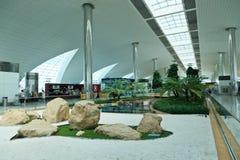 dubai lotniskowy zawody międzynarodowe Zdjęcie Royalty Free