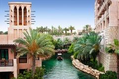 Dubai, Madinat Jumeirah Foto de Stock Royalty Free