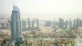 Dubai main modern hotel view time lapse Royalty Free Stock Photography