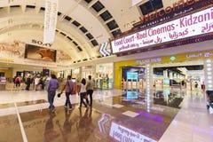 The Dubai Mal linterior Royalty Free Stock Photography
