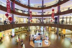 The Dubai Mal linterior Royalty Free Stock Photos