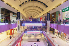 The Dubai Mal linterior Stock Images