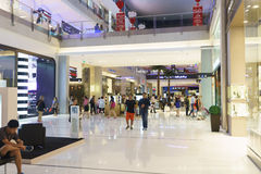 The Dubai Mal linterior Royalty Free Stock Image
