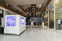 The Dubai Mal linterior Royalty Free Stock Images