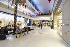 The Dubai Mal linterior Stock Photos