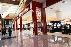 Dubai-Mall stockfoto