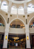 Dubai mall architecture Royalty Free Stock Images
