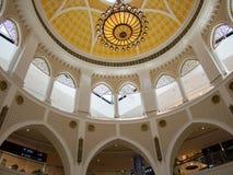 Dubai mall architecture Stock Photo