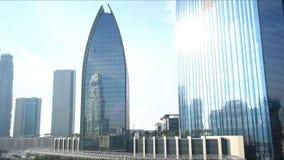 Dubai mall area 4k time lapse stock video footage